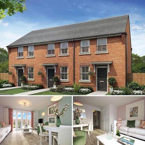 2 bedroom terraced house for sale - Plot 153, Wilford at Hallam Park & Darwin View, Limburg Avenue, Lichfield, LICHFIELD WS13