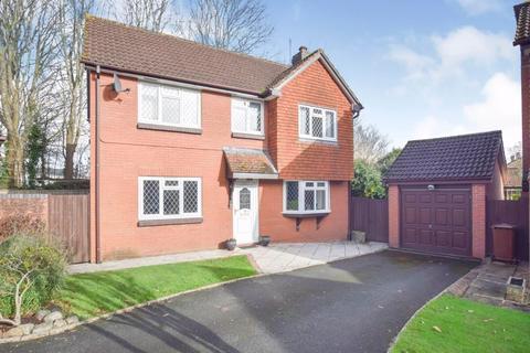 4 bedroom detached house for sale - Staddon Close, Exeter
