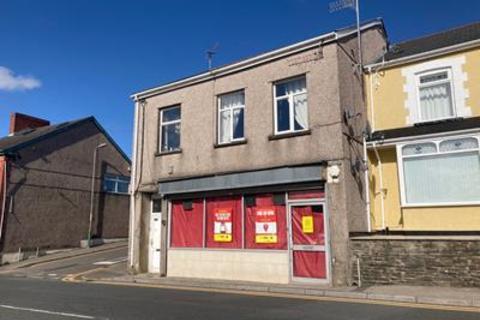 Shop for sale - 93 & 93a, Commercial Street, Aerbargoed