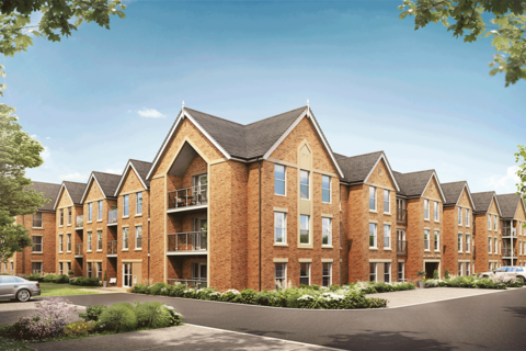1 bedroom retirement property for sale - Apartment45, at Catherine Place & Pine Gardens Scalford Road LE13