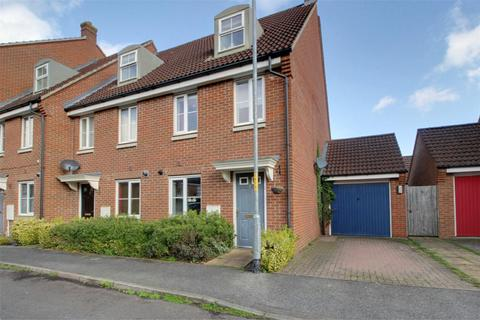 3 bedroom end of terrace house for sale - Cabinet Close, Dereham, NR19