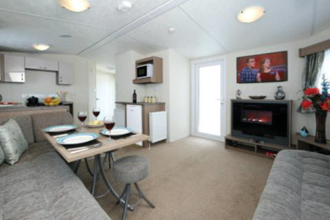 2 bedroom static caravan for sale - Caravan For Sale at Golden Beach Norfolk