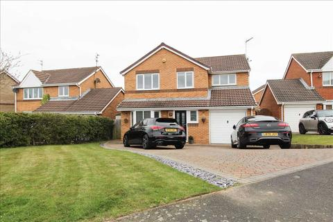 4 bedroom detached house for sale - Highstead Avenue, Northburn Wood, Cramlington