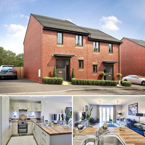 2 bedroom semi-detached house for sale - Plot 56 - The Ashenford at Mayfield Gardens, Cumberland Way, Monkerton EX1