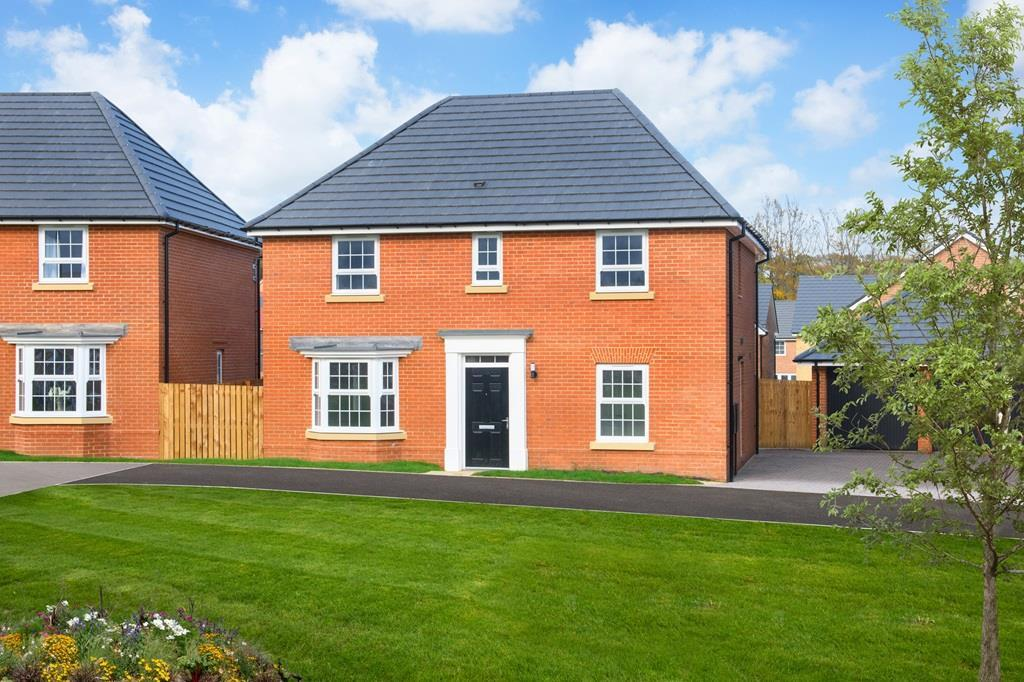 Outside view 4 bedroom Bradgate detached home