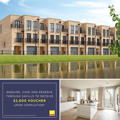 4 bedroom terraced house for sale - Plot 85, Wolvercote Mill, Mill Road, Wolvercote, Oxford, OX2