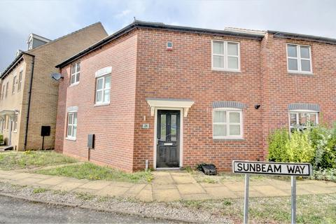 3 bedroom end of terrace house to rent - Sunbeam Way, Coventry