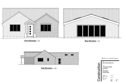 4 bedroom detached bungalow for sale - Gunton Drive, Lowestoft