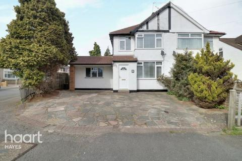 4 bedroom semi-detached house for sale - Rutland Road, Hayes