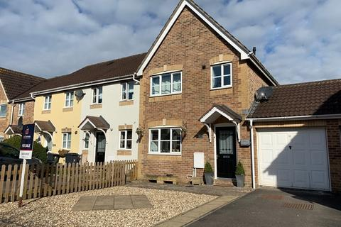 3 bedroom end of terrace house for sale - Pale Gate Close, Honiton