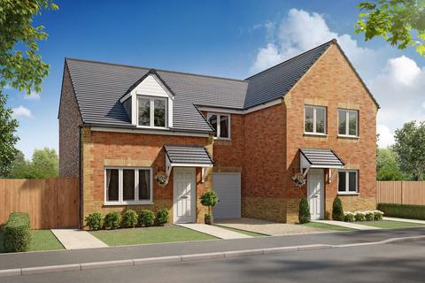 3 bedroom semi-detached house for sale - Plot 037, Woodford at School Court, Butchers Lane, Pegswood, Northumberland NE61