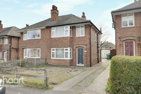 3 bedroom semi-detached house for sale - Heatherley Drive, Basford