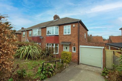 3 bedroom semi-detached house for sale - Fenham Hall Drive, fenham, Newcastle upon Tyne, Tyne and Wear, NE4 9XB