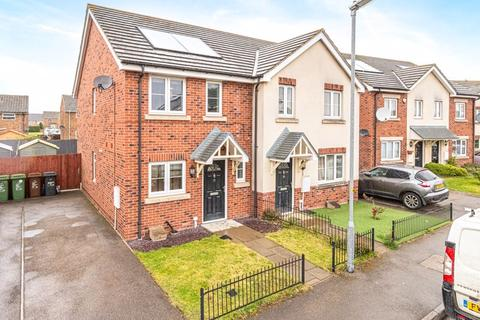 2 bedroom semi-detached house for sale - Hooke Close, Corby