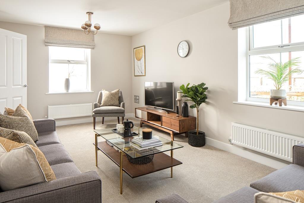 Hadley 3 bedroom home lounge