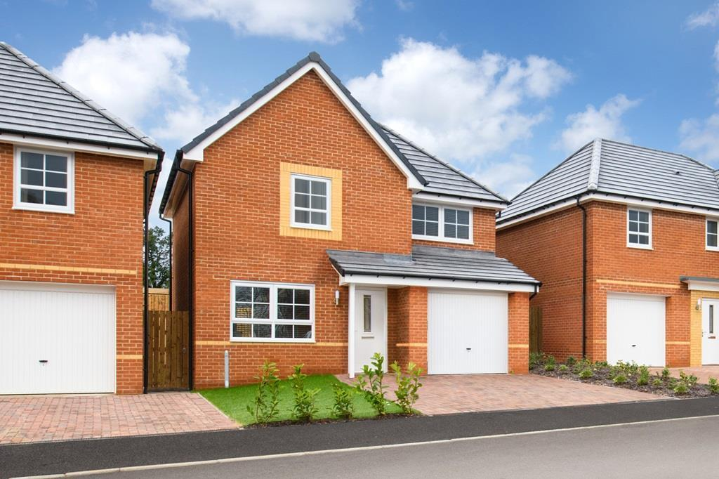 Outside view 3 bed detached Denby home