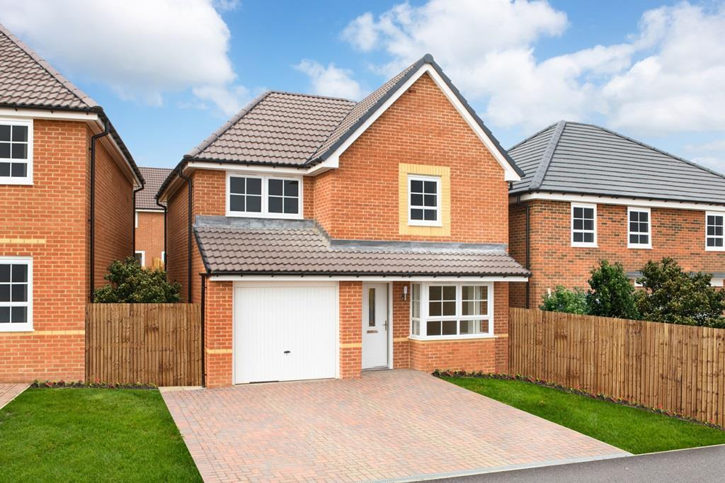 Outside view of 3 bedroom Derwent home