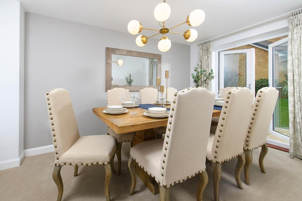 Fircroft 6 bed home dining room