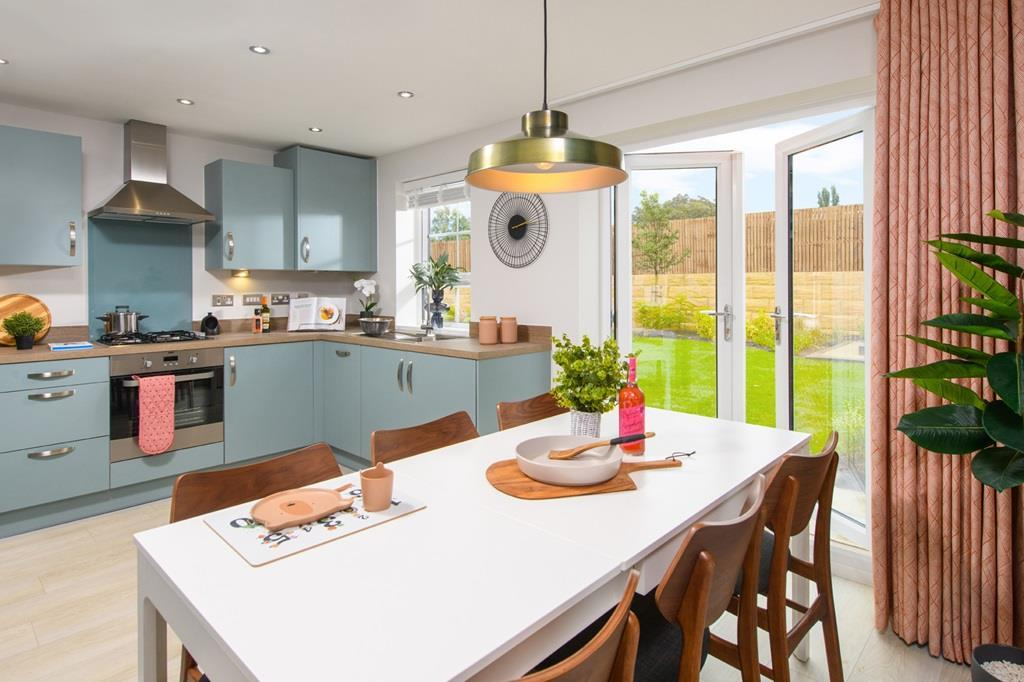 Kitchen inside 3 bed Ellerton home