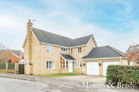 4 bedroom detached house for sale - Luscombe Way, Rackheath