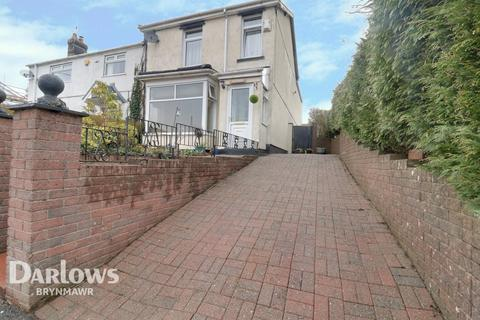 3 bedroom semi-detached house for sale - St Lukes Road, Tredegar