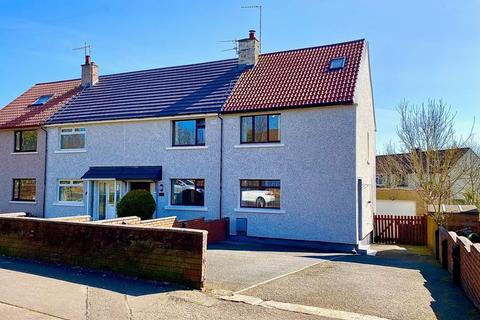 3 bedroom end of terrace house for sale - Mauchline Road, Mossblown