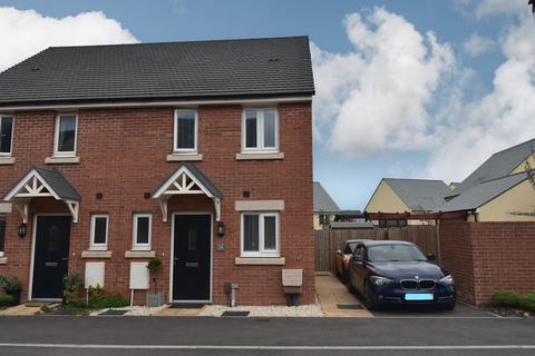 2 bedroom semi-detached house for sale - Crabtree Close, Cranbrook, Exeter