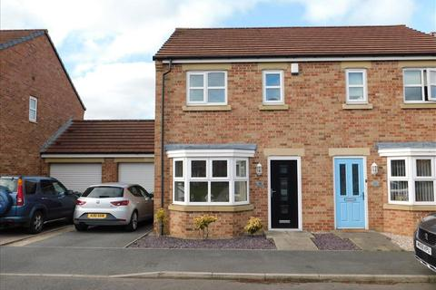 3 bedroom semi-detached house for sale - SIDINGS PLACE, FENCEHOUSES, Houghton le Spring, DH4 6BF