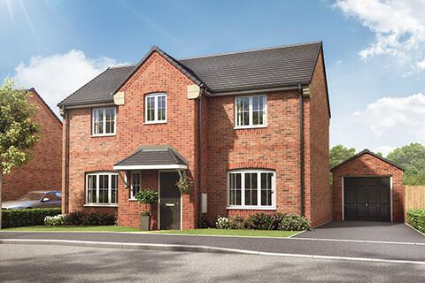 4 bedroom detached house for sale - Plot 8, The Windsor at Eleanor Gardens, The Headlands, Navenby, Lincolnshire LN5