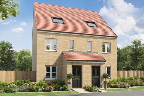 3 bedroom end of terrace house for sale - Plot 606, The Braunton at East Benton Rise, Station Road NE28