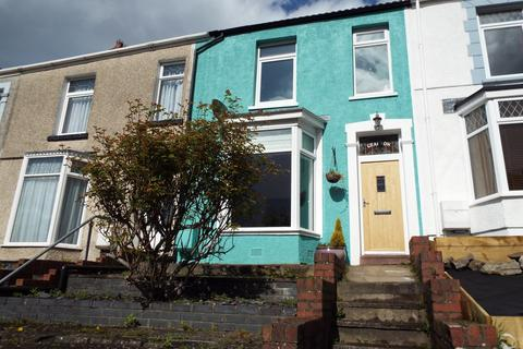 2 bedroom terraced house for sale - 13 coed Saeson Crescent, Sketty, Swansea SA2 9DG