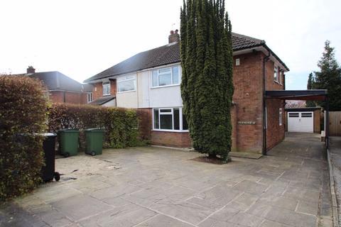3 bedroom semi-detached house for sale - Crossmoor Crescent, Romiley