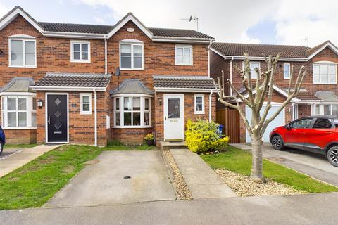 3 bedroom end of terrace house for sale - The Hawthorns, Long Riston, Hull