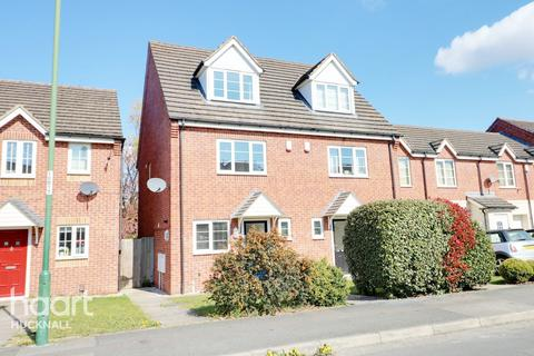 3 bedroom end of terrace house for sale - Bakewell Drive, Nottingham