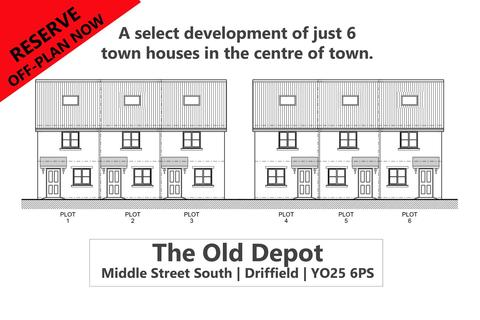 3 bedroom townhouse for sale - The Old Depot, Middle Street South, Driffield