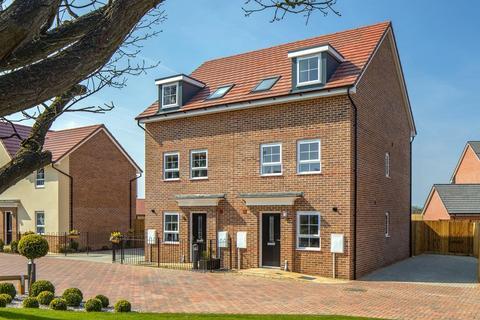 3 bedroom semi-detached house for sale - Plot 97, Norbury at Silk Waters Green, Moss Lane, Macclesfield, MACCLESFIELD SK11