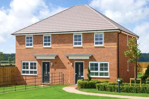 3 bedroom end of terrace house for sale - Plot 86, Maidstone at Blossom Park, Hebron Avenue, Pegswood, MORPETH NE61