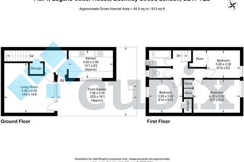 3 bedroom ground floor maisonette for sale - Eugene Cotter House, Beckway Street, London SE17