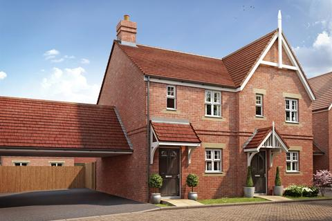 2 bedroom end of terrace house for sale - Plot 53, The Alnmouth at Oakwood Meadows, Ostrich Street, Stanway C03
