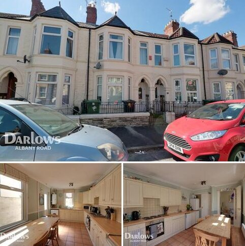 4 bedroom terraced house for sale - Tewkesbury Place, Cardiff