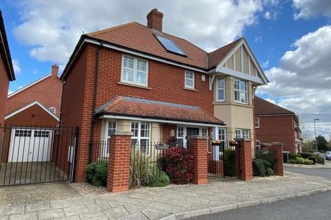 4 bedroom detached house for sale - Sam Harrison Way, Duston, Northampton NN5 6UL
