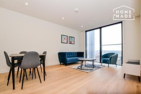 1 bedroom flat to rent - Hampton Tower, South Quay, E14