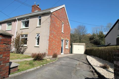 2 bedroom semi-detached house for sale - Greenfield Crescent, Beaufort, Ebbw Vale, Blaenau Gwent, NP23 5PF