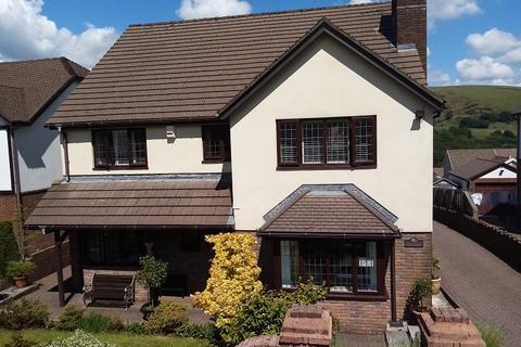 5 bedroom detached house for sale - Y Dderwen, Llangynwyd, Maesteg, Bridgend. CF34 9HX