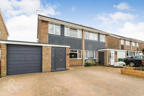 3 bedroom semi-detached house for sale - Gowing Road, Mulbarton, Norwich