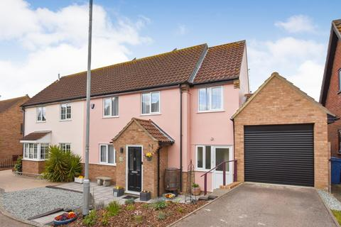 3 bedroom semi-detached house for sale - Stockton Close, Hadleigh, Ipswich