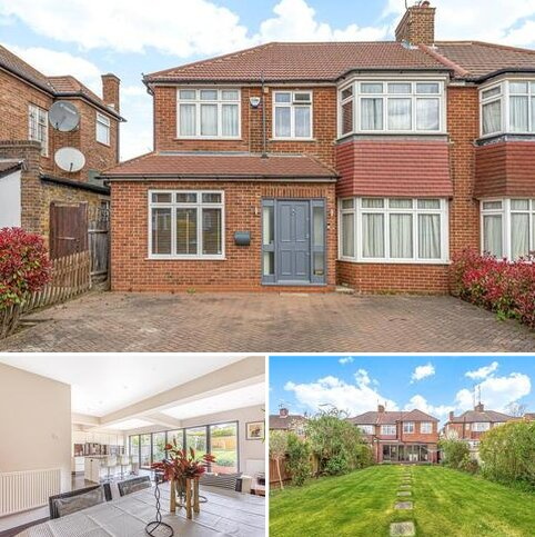 4 bedroom semi-detached house for sale - Lonsdale Drive, Enfield