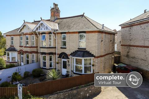 5 bedroom semi-detached house for sale - Torquay Road, Newton Abbot