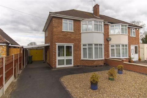 3 bedroom semi-detached house for sale - Ilmington Close, Glenfield