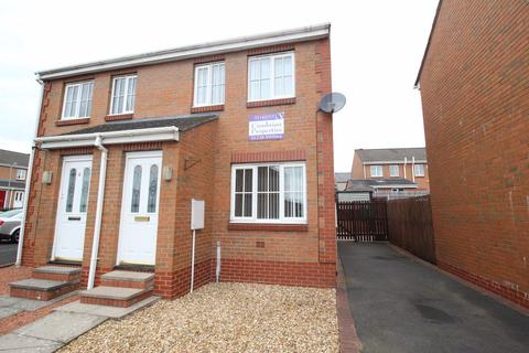 2 bedroom semi-detached house to rent - Abbots Road, Off Wigton Road